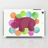hippo iPad Cases featuring Hippo by Katy Welte