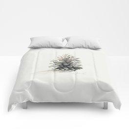 Pinecone Watercolor Comforters