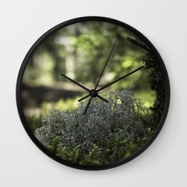 Mountain Forest Floor Wall Clock