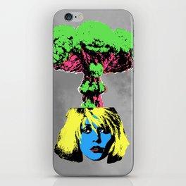 Atomic Blondie iPhone Skin