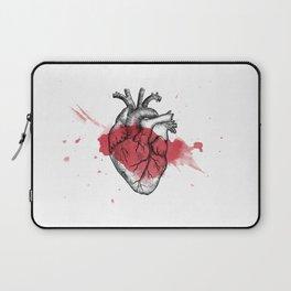 Anatomical heart - Art is Heart  Laptop Sleeve