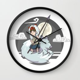 Mononoke (Princess Mononoke) Wall Clock