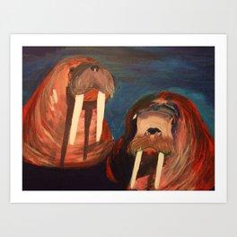 Helen and Harold Art Print