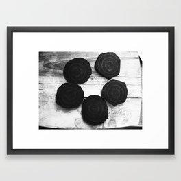 Ritual Preperation Framed Art Print