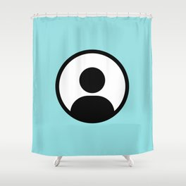 Anonymous Shower Curtain