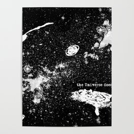 The Universe Doesn't Care Poster