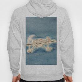 Avion bleu Hoody