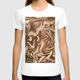 Copper marble II T-shirt