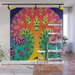 A Tree Dreaming In Color Wall Mural