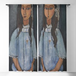 Alice by Amedeo Modigliani Blackout Curtain