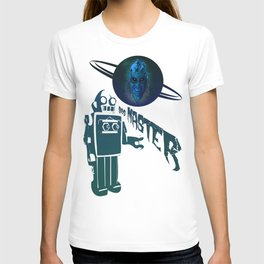 BLUE PLANET ALIEN (Us And Them) T-shirt