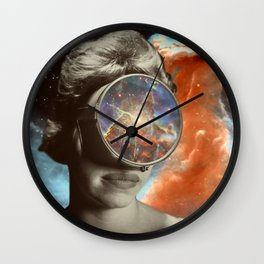 Space Gaze Wall Clock