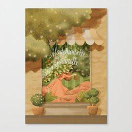 Mademoiselle Prunelle Canvas Print