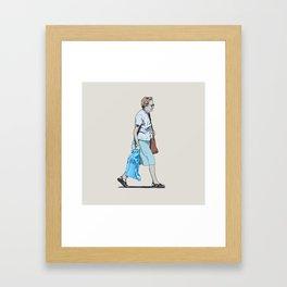 Abuela Framed Art Print