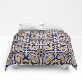 Portuguese tile Comforters