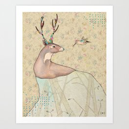 ...tener un bosque dentro. Art Print