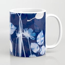 Flora Cyanotype Coffee Mug