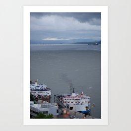 Port de Québec Art Print