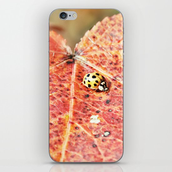 Lady on the Run iPhone & iPod Skin