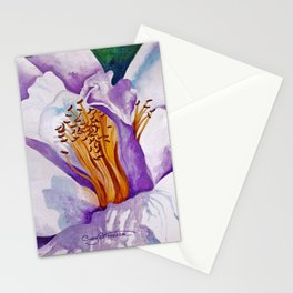 Camellia - Reflections of Lavender Stationery Cards