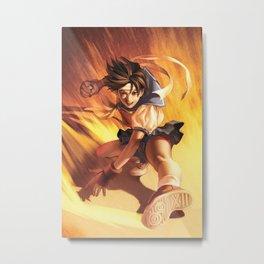 Sakura Street Fighter Metal Print