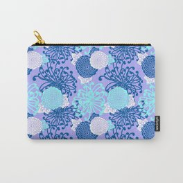 Art Deco Flowers Carry-All Pouch