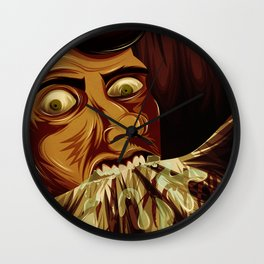 Christy Brown Wall Clock