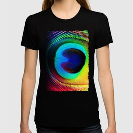 Colorfull Feather Peacock T-shirt