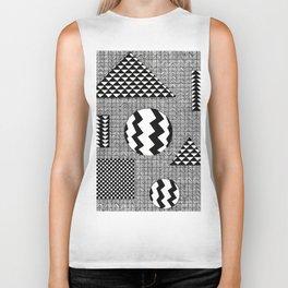 Geometric Patterns Biker Tank