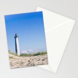 Nantucket Beach Lighthouse Stationery Cards