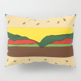 Burger Pillow Sham
