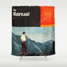 The Manual Shower Curtain