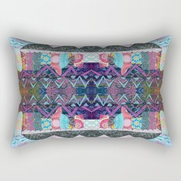 Purple Majesty Mountain Kaleidoscope Rectangular Pillow