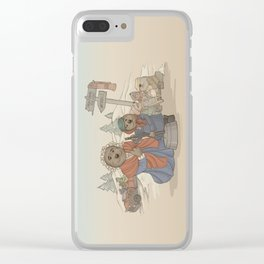 With Kindness, There's Room for us All. Clear iPhone Case