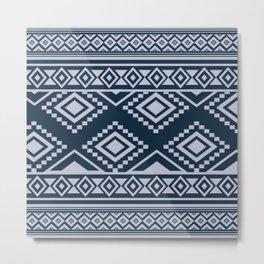 African Mud Cloth Print no.3 Metal Print