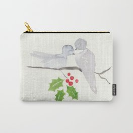Turtle Dove Love Carry-All Pouch