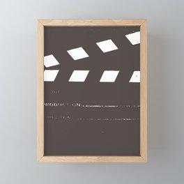 Take 1 Framed Mini Art Print
