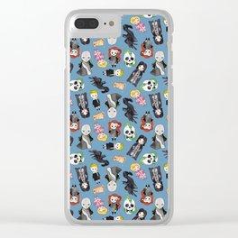Wizard Villains Clear iPhone Case