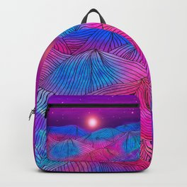 Lines in the mountains XXII Backpack