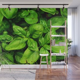 Raw Pesto Wall Mural