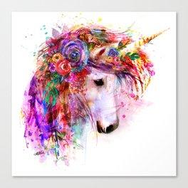 Garden of the Wild ~ Unicorn Canvas Print