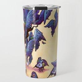 I Hate Pigeons Travel Mug