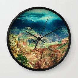 Grand Canyon Digital Paint Wall Clock
