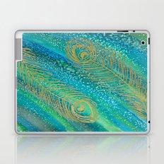 Peacock Feathers Laptop & iPad Skin