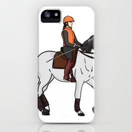 Horse horses gift pony mare stallion riding iPhone Case