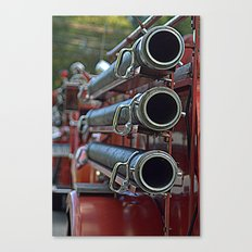 Vintage Fire Truck Canvas Print