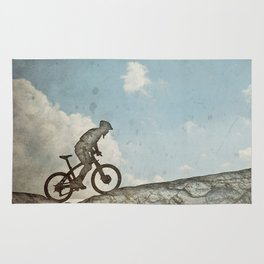 Mountain Biking Rug