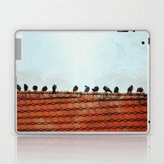 Birds on a Rooftop Laptop & iPad Skin