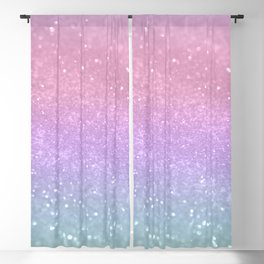 Unicorn Princess Glitter #1 (Photography) #pastel #decor #art #society6 Blackout Curtain