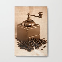 Coffee grinder Metal Print